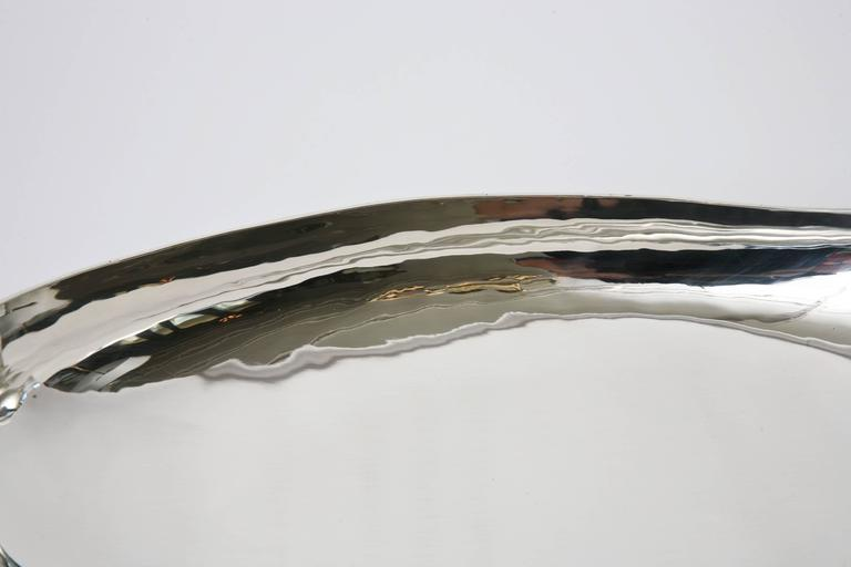 Sterling Silver Bowl by C. Zurita Mid-Century Modern For Sale 3