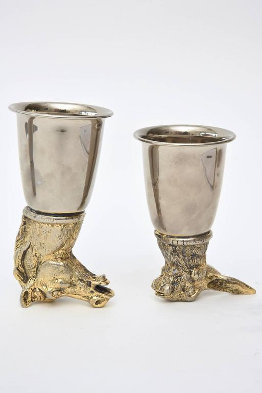 Antique Glass Stirrup Cups For Sale