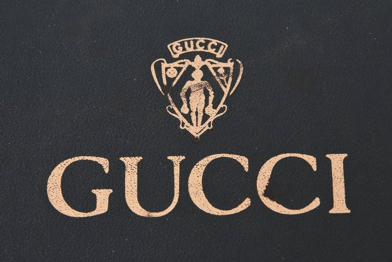 Italian Gucci Vintage Lucite Deck of Cards Folding Serving Tray / Barware For Sale 5
