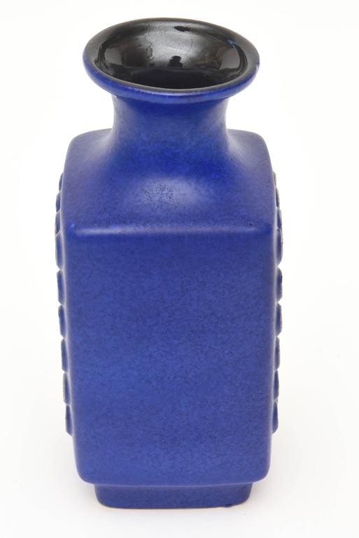 Mid-20th Century Ceramic Glazed Vase or Vessel Midcentury Modernist For Sale
