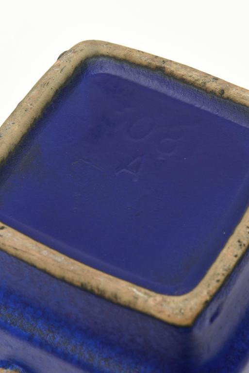 Ceramic Glazed Vase or Vessel Midcentury Modernist For Sale 3