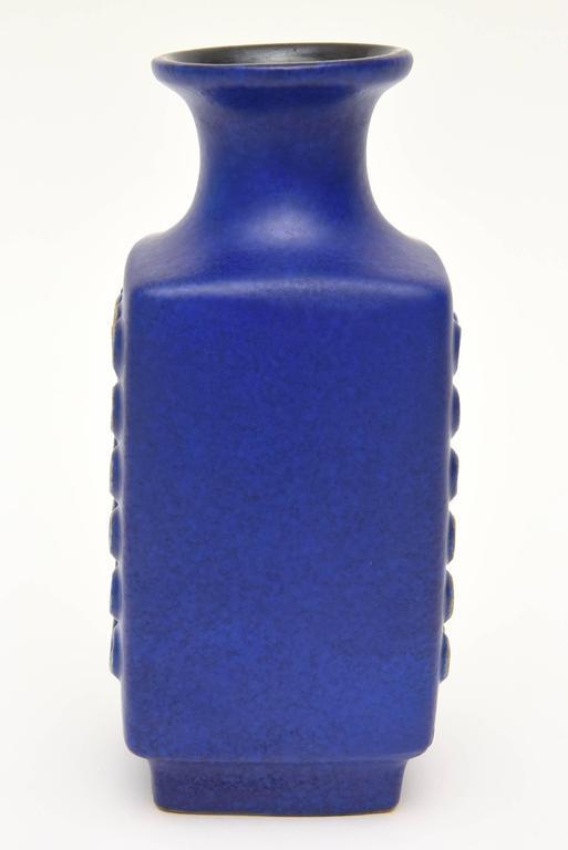 Ceramic Glazed Vase or Vessel Midcentury Modernist For Sale 2