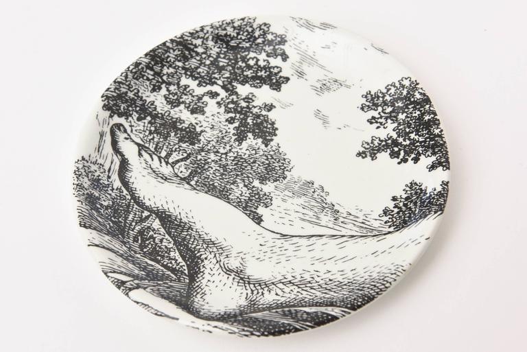 Piero Fornasetti Porcelain Coasters
