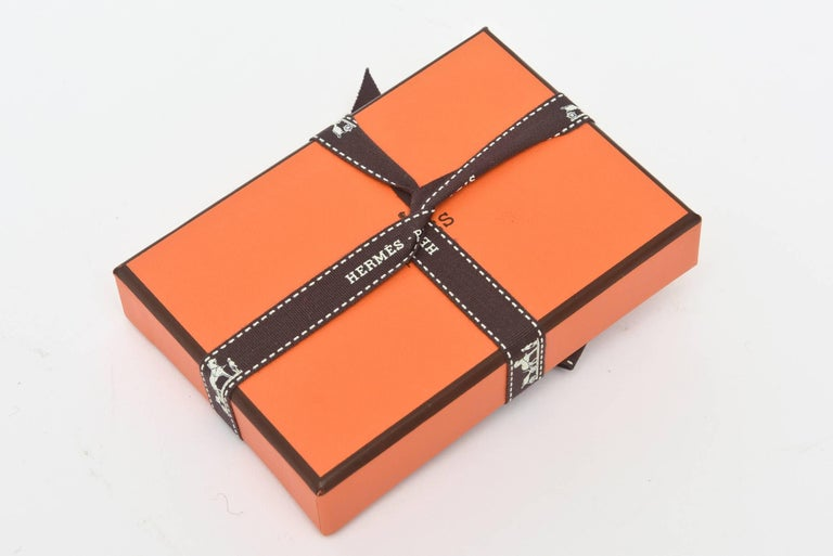 Hermes Geometric Playing Cards  In Excellent Condition For Sale In North Miami, FL