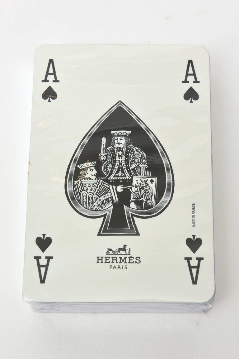 Hermes Geometric Playing Cards  For Sale 2