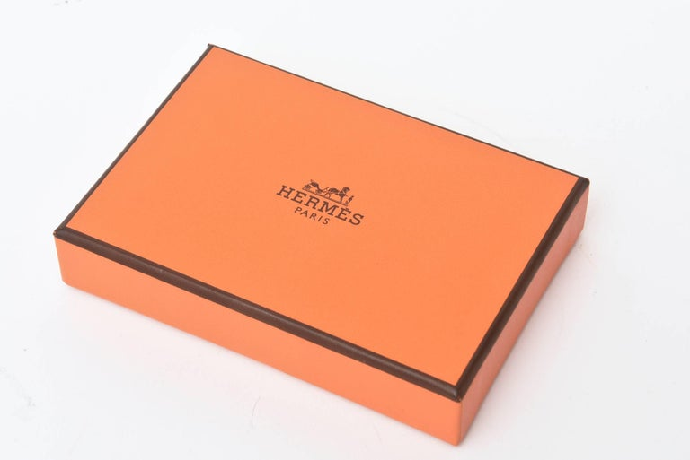 French Hermes Geometric Playing Cards  For Sale