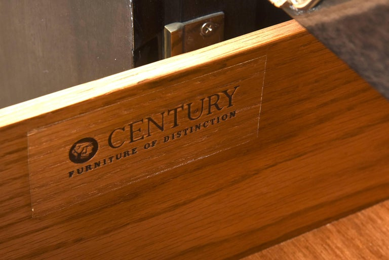 Vintage Midcentury Greek Key Cabinet/Buffet with Original Hardware 10