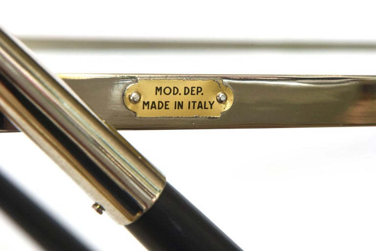 Cesare Lacca Bar Cart or Trolley Italian Mid-Century Modern For Sale 5