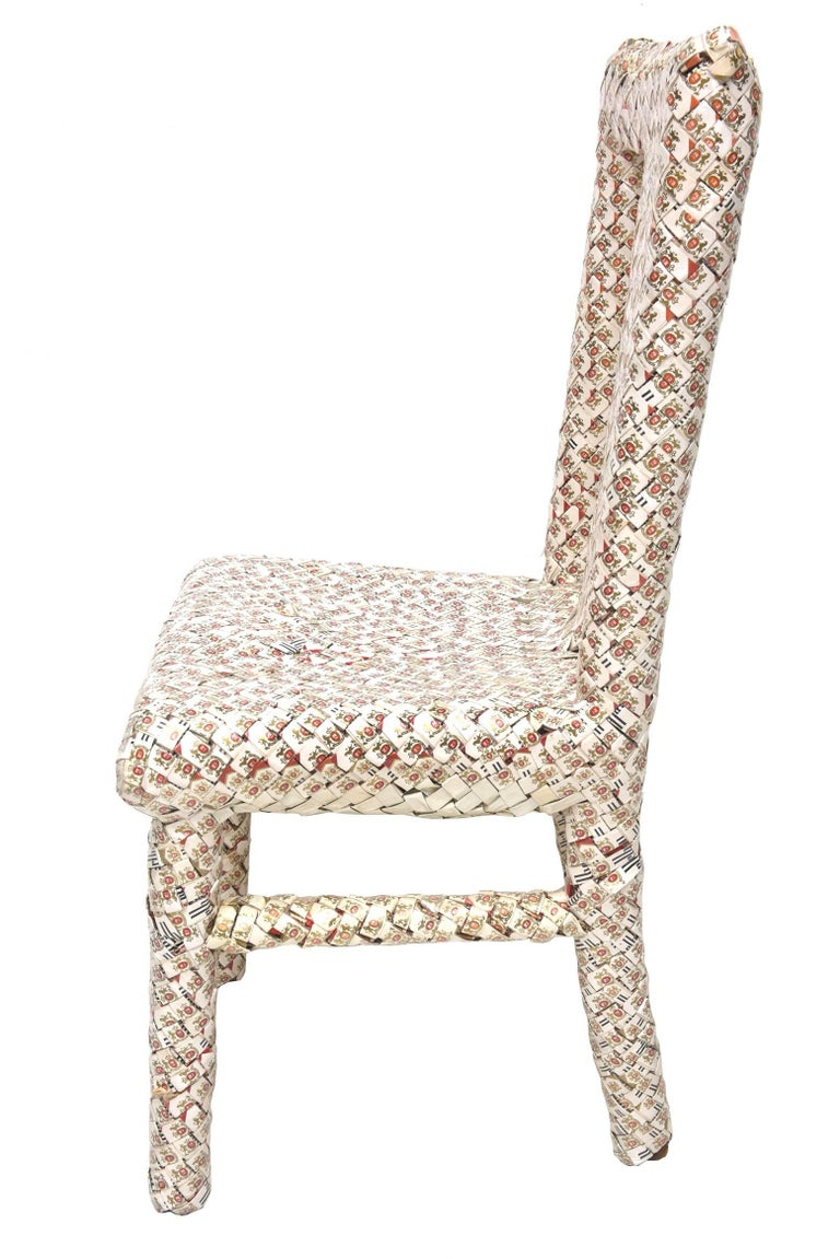 Mid-20th Century One of a Kind Marlboro Art Chair/ Sculpture For Sale