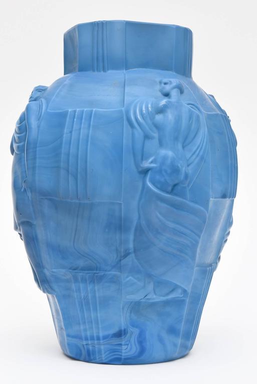Curt Schlevogt Sensual Art Deco Czech Molded Nude Relief -2237