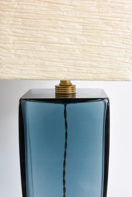 Mid-Century Modern SALE! SALE! AZUL BLUE  1Murano single production
