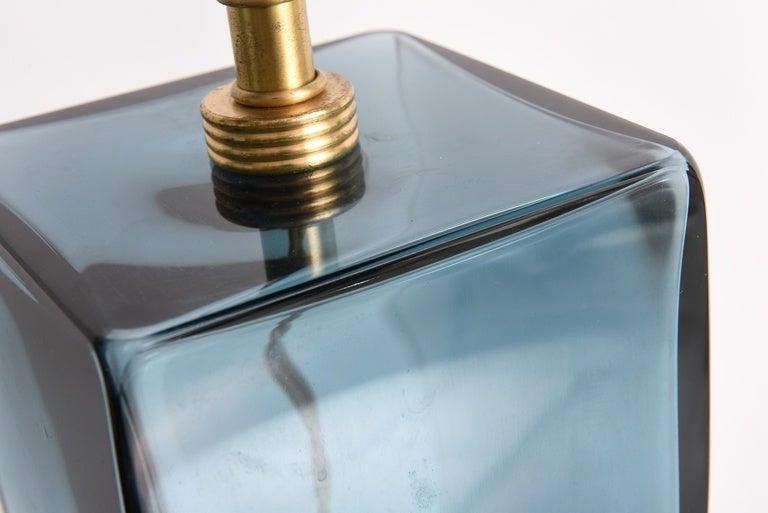 Late 20th Century SALE! SALE! AZUL BLUE  1Murano single production
