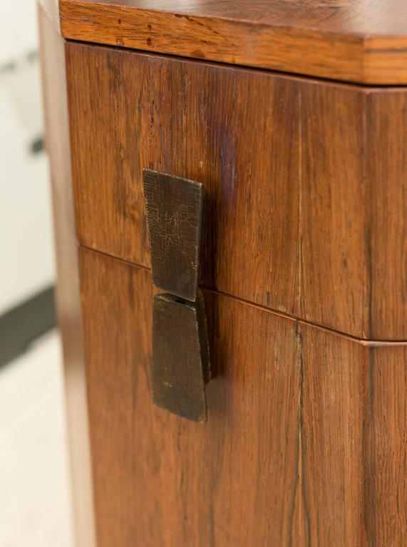 Harvey Probber Rosewood Bar Cabinet At 1stdibs