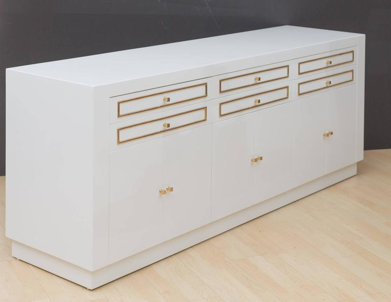 1970s Custom Lacquered Sideboard 2