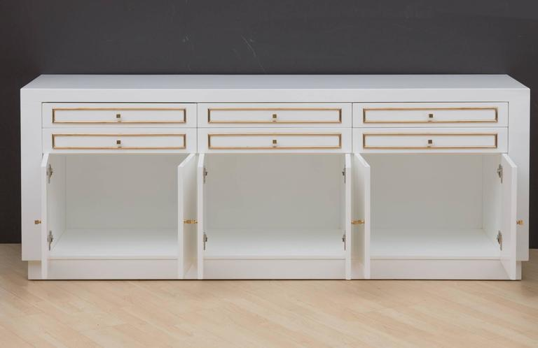 1970s Custom Lacquered Sideboard 3