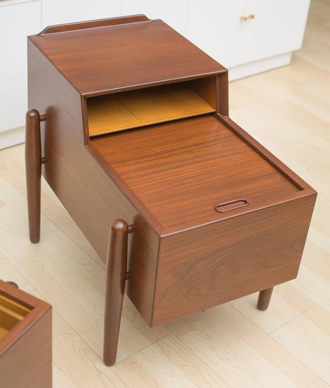 Arne Vodder Two-Tier End Tables 3