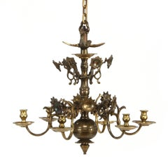 Dutch Late 19th Century Baroque Style Chandelier