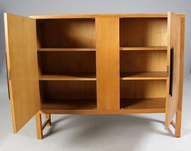 Danish 1940s1950s Oak Cabinet For Sale at 1stdibs