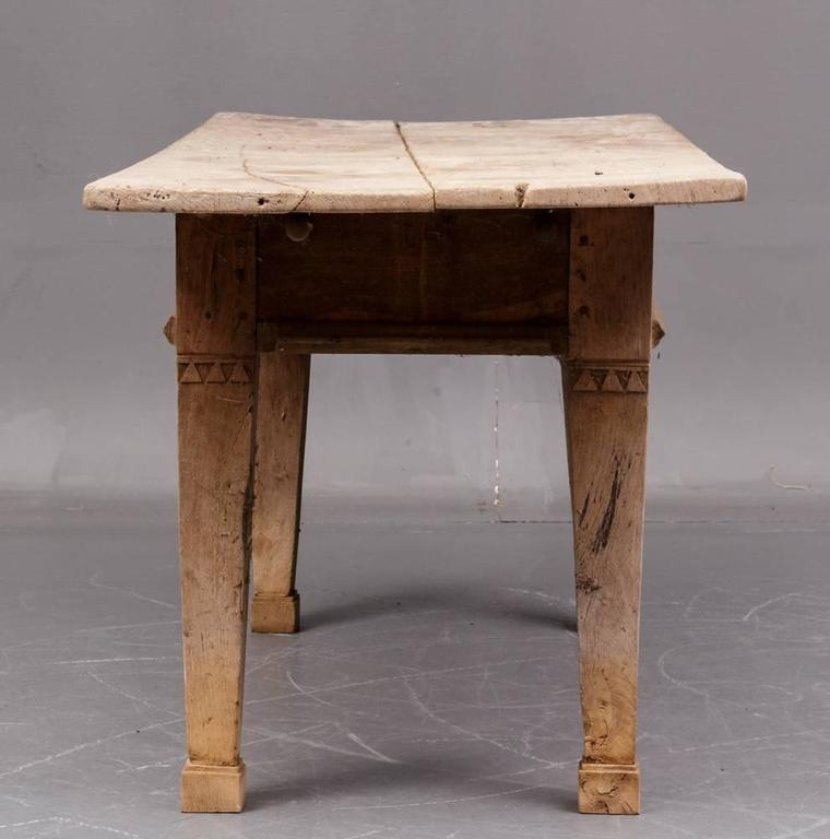 Scandinavian rustic farm tavern table circa 1800 or for Rustic farm tables for sale
