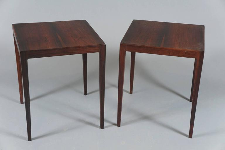 Danish Set of Three Tables by Kurt Ostervig For Sale