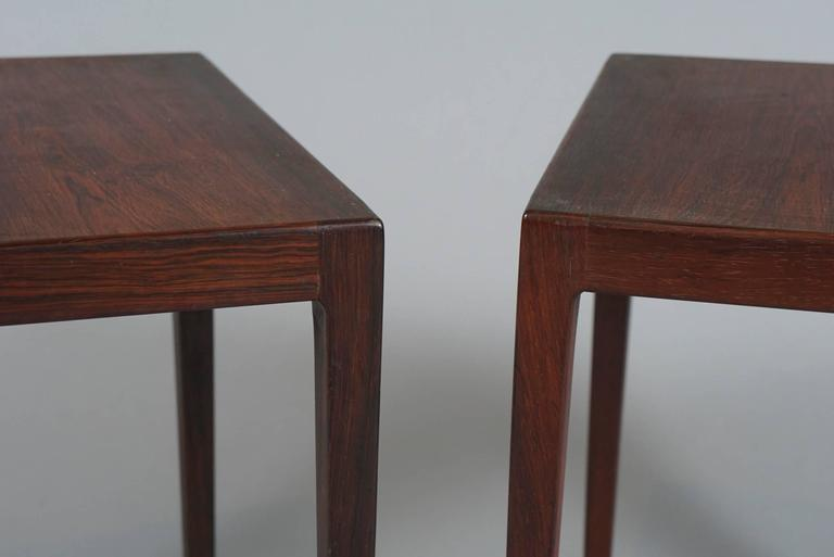 Mid-20th Century Set of Three Tables by Kurt Ostervig For Sale