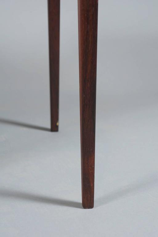 Rosewood Set of Three Tables by Kurt Ostervig For Sale