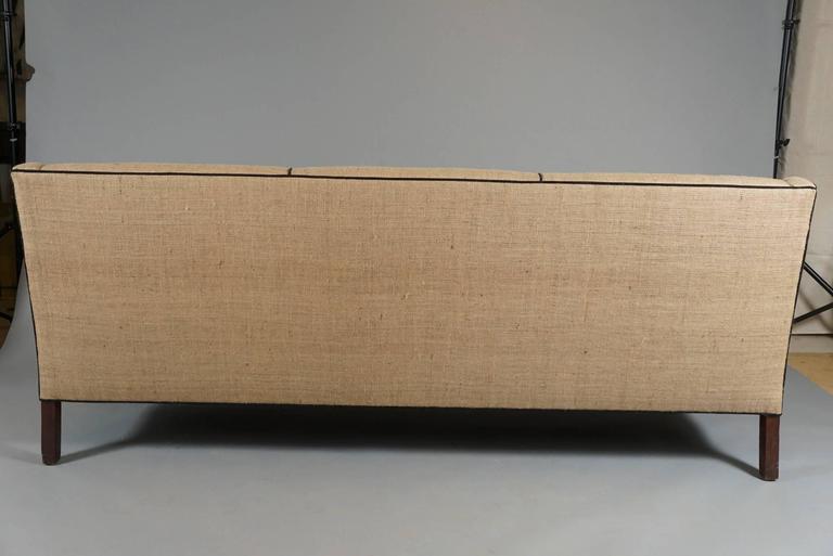 Three-Seat Danish Modern Sofa 3