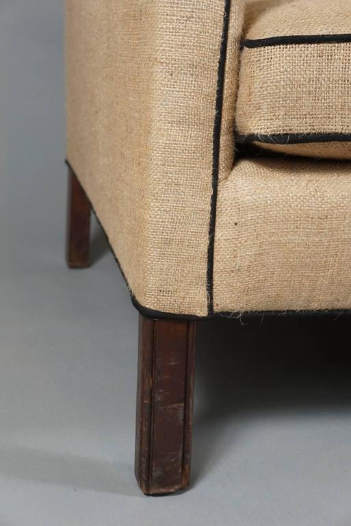 Three-Seat Danish Modern Sofa 6