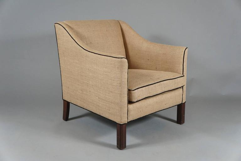 Pair of Danish Modern Armchairs 4