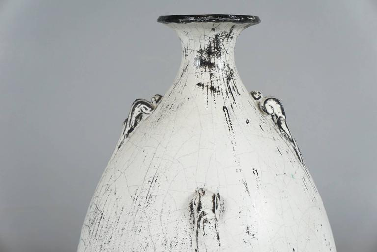 Scandinavian Modern Large Kähler Keramik Vase by Svend Hammershøi For Sale