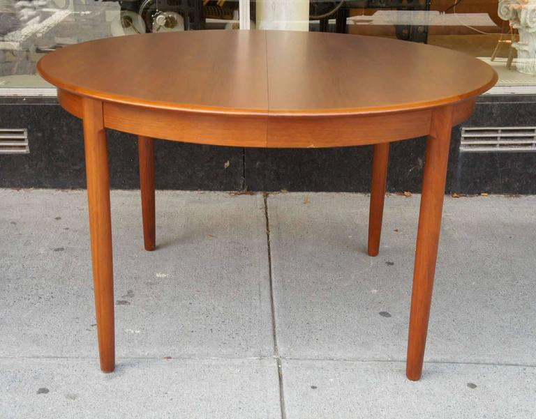 Danish Modern Dining Table in Teak 2