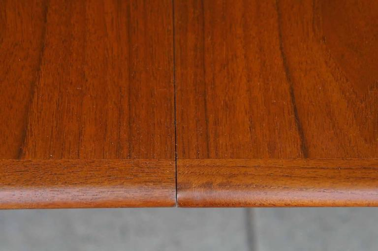 Danish Modern Dining Table in Teak 4