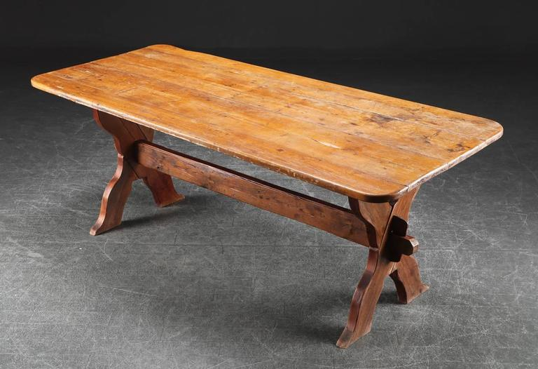 Danish Country Trestle Table 2