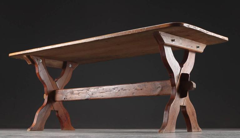 Danish Country Trestle Table 5