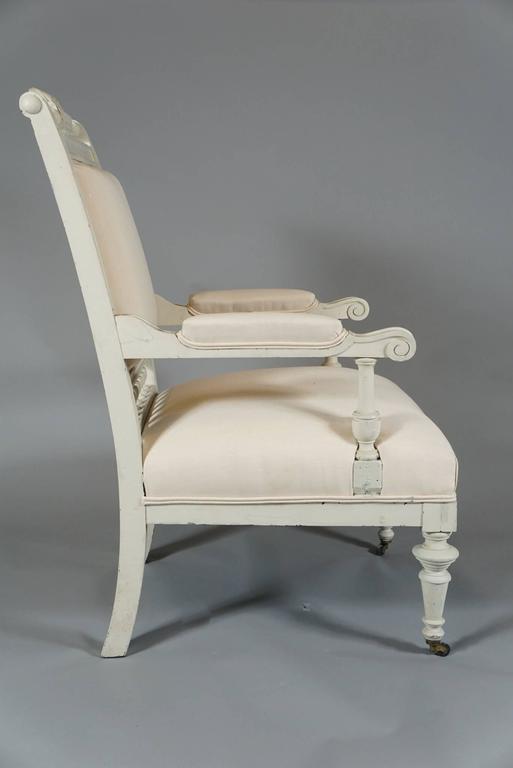 Pair of Danish Aesthetic Movement Armchairs 4