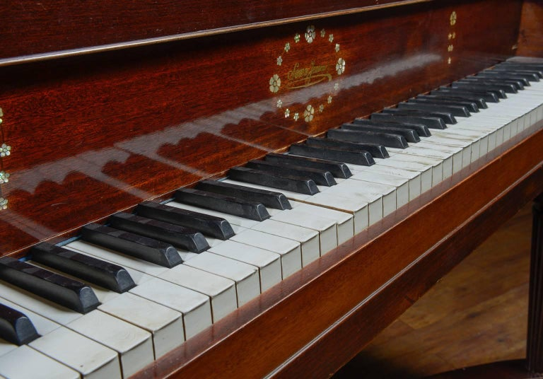 """Baby Grand """"Butterfly' Piano 2"""