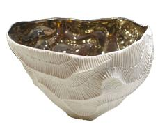 Platinum Lined Bowl, Italy, Contemporary