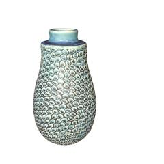 Vintage Inspired Design Turquoise Vase, Thailand, Contemporary