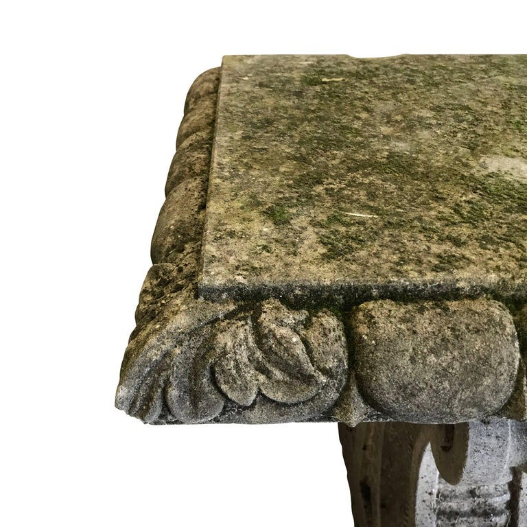 Vicenza Stone Bench, Italy, 1920s In Excellent Condition For Sale In New York, NY