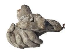 Clasping Hands Sculpture, Belgium, 19th Century