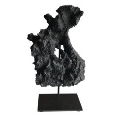 Iron Ore Stone Sculpture, China, Prehistoric
