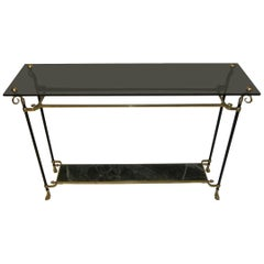 Maison Jansen Console Table, France, Mid-Century