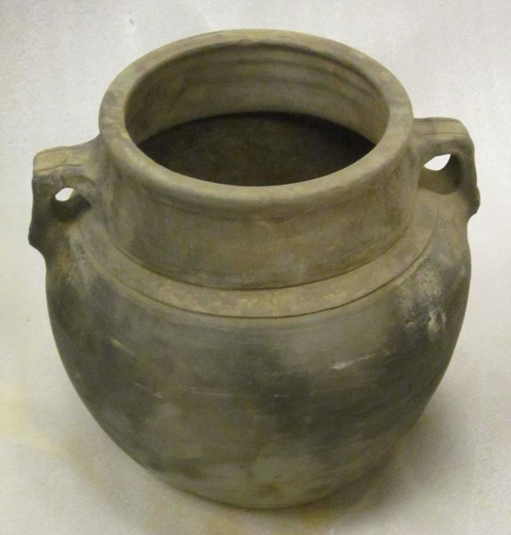 Terra Cotta Weathered Charcoal Pots, China In Excellent Condition For Sale In New York, NY