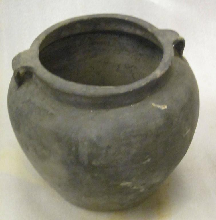 20th Century Terra Cotta Weathered Charcoal Pots, China For Sale