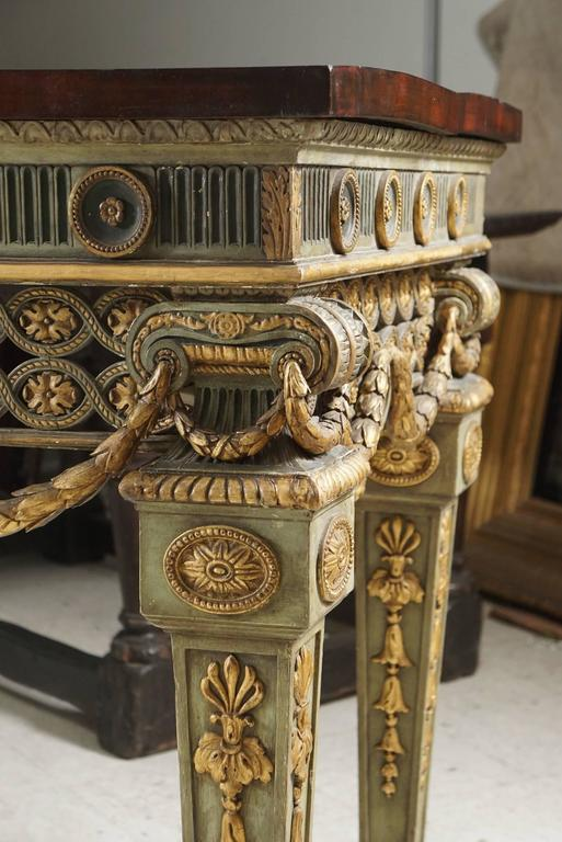 20th Century Large and Important Louis XVI Style Console Table from Blairsden House For Sale