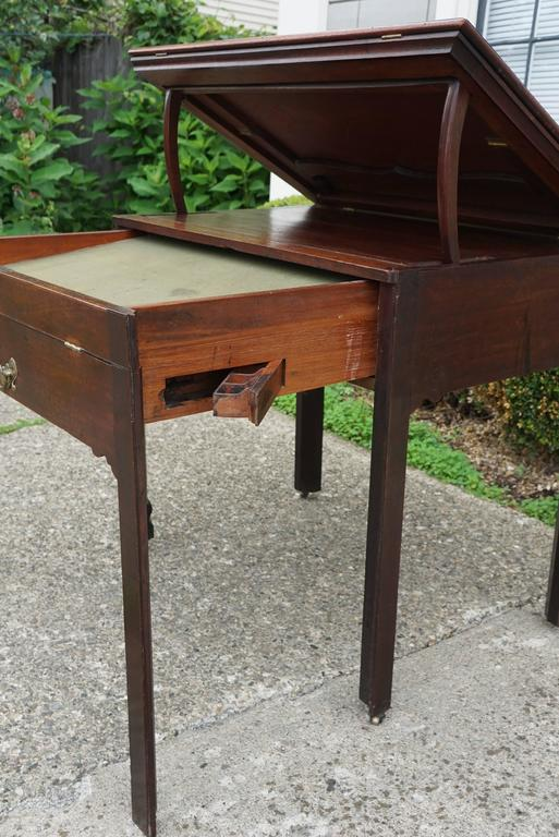 Period Early George III Mahogany Architects Work Table 9