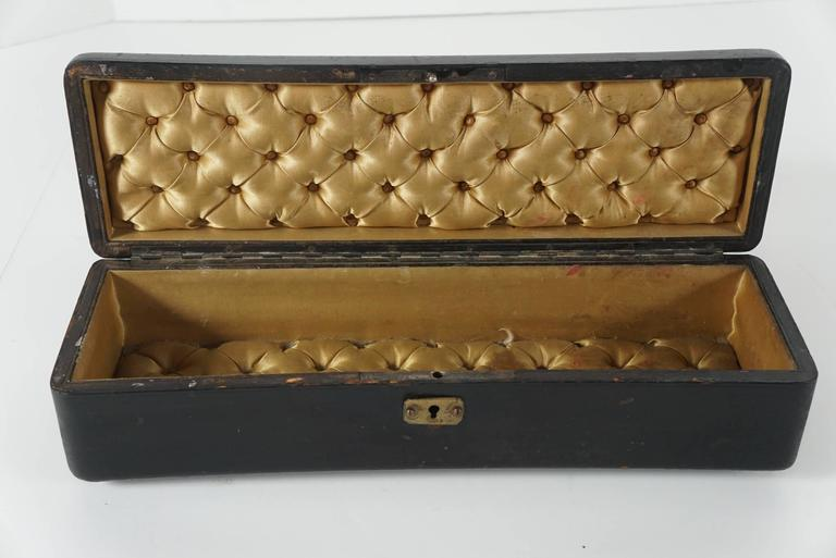 Victorian Two French 19th Century Glove Boxes For Sale