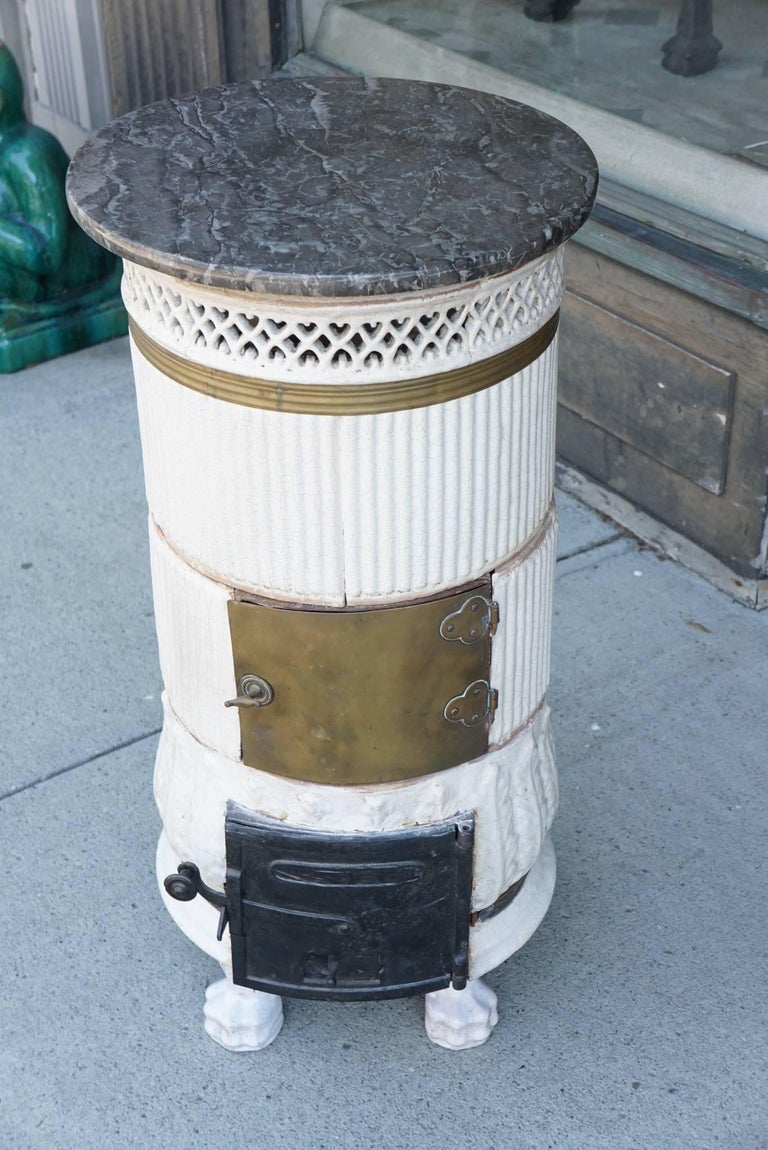 Late 18-Early 19th Century Glazed Stove from the Estate of Paul & Bunny Mellon 2