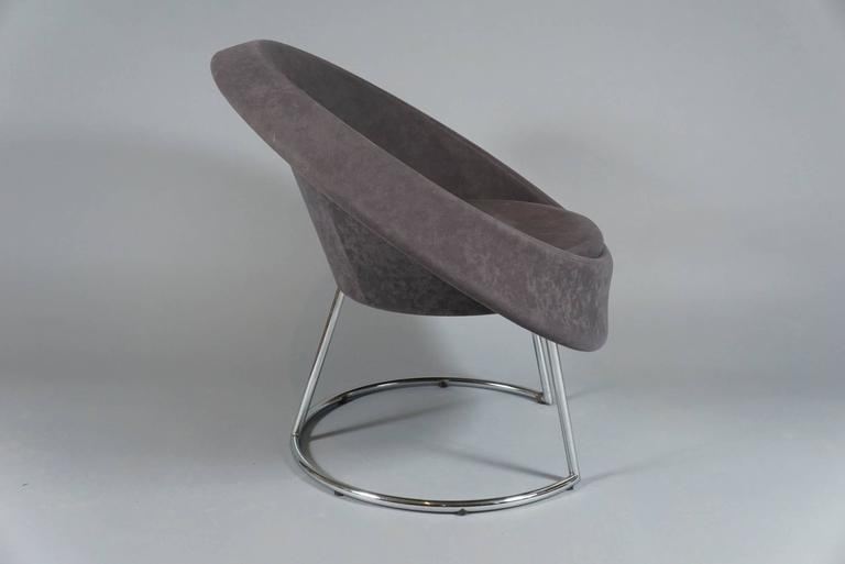 Late 20th Century Saucer Chair, circa 1980 For Sale