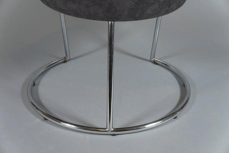 Saucer Chair, circa 1980 In Good Condition For Sale In Hudson, NY